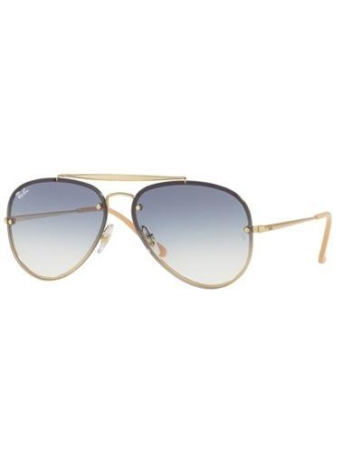 Ray-Ban 0RB3584N-001/1958 Unisex Gözlük Altın